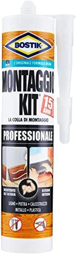166 opinioni per Bostik Montaggio Kit Professionale cartuccia 350 gr, Trasparente