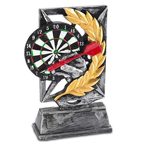 Goods & Gadgets Dart Trofee - Dart winnaar-bok Siegesbeeld 18cm uitvoerig gemodelleerd & handgeschilderd