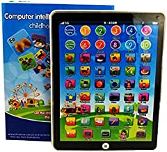 My Very Own Learning Pad Amazon Toddler Interactive Learning Pad with Games for Fun Learning. Touch Pad with Alphabet, Num...