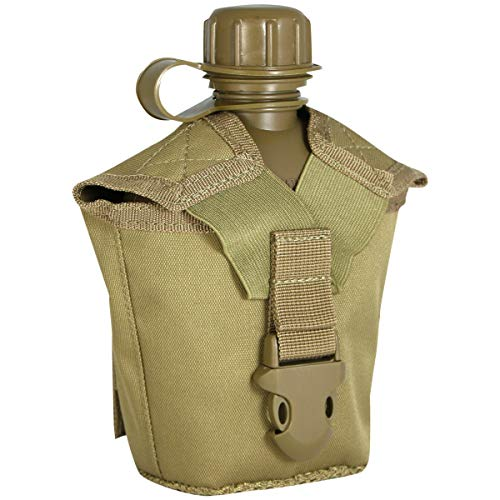 Viper TACTICAL Modular - Cantimplora con Funda - Libre de plásticos y BPA - Coyote