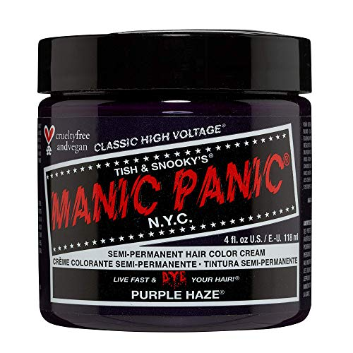 Coloration Semi-permanente Classic de Manic Panic 118ml (Purple Haze)