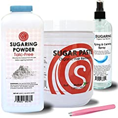 """Easy to use at Home Needs NO Waxing Heater - Can be used with Microwave Trusted brand - Sugaring NYC is America's Larges Sugaring Salon Network Full """"How To"""" Manual is available on the website. Ships SAME DAY!"""