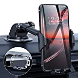 DesertWest [2020 Upgrade] Universal Car Phone Mount, Cell Phone Holder for Dashboard Windshield Air Vent, Long Arm Compatible with iPhone 12 SE 11 Pro Max XR XS X Samsung Galaxy Note 20 S20 S10 S9