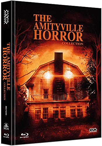 Amityville Horror Collection [4 Blu-Ray] - uncut - auf 666 limitiertes Mediabook