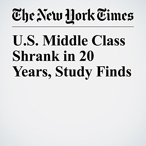 U.S. Middle Class Shrank in 20 Years, Study Finds copertina