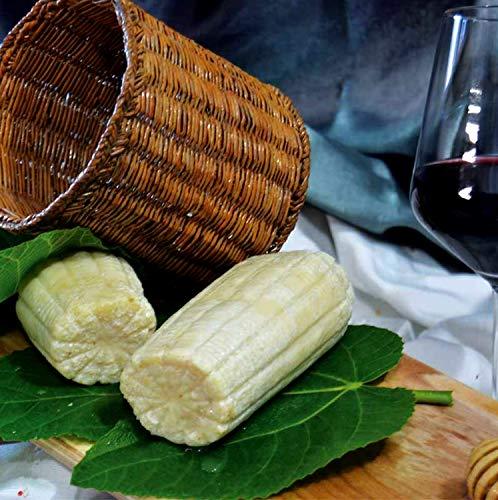 Ricotta Secca Salata di pecora Stagionata Bianca Calabrese 240 gr circa - Sfizi di Calabria
