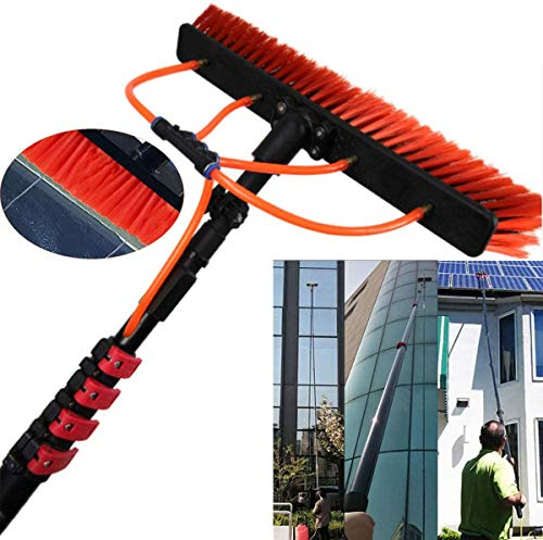 WERFFT Photovoltaik-Panel-Reinigungs-Tools Photovoltaik-Panel-Reinigungsbürste Wischmopp Geeignet für Camper/LKW/Auto/Bus Reinigung 9M,6m