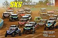 2021 SXS Racing デラックス壁掛けカレンダー