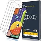 [4 Pack] QHOHQ Tempered Glass for Samsung Galaxy A20, A50, A20S,...