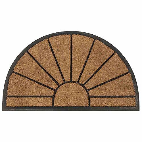 Siena Garden Fußmatte, Schmutzfang, Sonne, Kokos & Kautschuk, 75x45cm, D37415