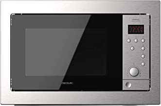 Cecotec Microondas encastrable GrandHeat 2500 Built-In Steel Black