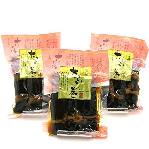昆布巻き タラコ 昆布巻 たらこ 函館 タラコの昆布巻き 3本入り×3袋 セット (220g前後×3) おせち料理の一品 佃煮昆布 コンブ巻 北海道 こんぶ巻