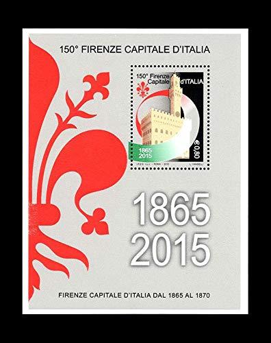 LaVecchiaScatola 2015 Firenze a Capitale d'Italia FOGLIETTO MNH/**