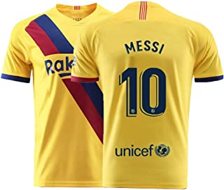 Mens Messi Jersey 2019-2020 Away Adult Soccer 10 Barcelona Lionel