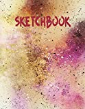 Sketchbook: cute sketchbook for drawing - painting paper - sketchbook set - sketchbook 8.5x11 - paint sketchbook - cool sketchbook - painting sketchbook
