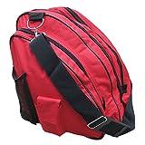 A&R Sports Skate Deluxe Bag, Red (SKBAGRD)