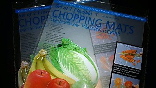 ASR Outdoor FCB-2110 Universal Thin Flexible Kitchen Cutting Board Mat (8 Pack)