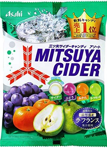 Asahi-Gruppe Essen Mitsuya Cider S??igkeit 136gX6 Taschen