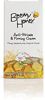 BeeMy Honey Anti-Wrinkle Firming Cream – Light Scent – Face Cream Made in Italy with Italian Honey, Beeswax and Tropical F...