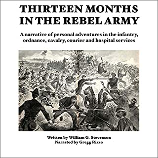 Thirteen Months in the Rebel Army cover art