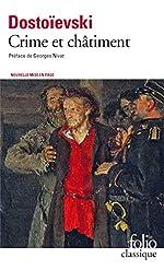 Crime et châtiment / Journal de Raskolnikov de Fédor Dostoïevski