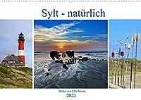 Sylt - natuerlich (Wandkalender 2022 DIN A2 quer): Sylter Natur in ihrer schoensten und auch besonderen Form... (Monatskalender, 14 Seiten )