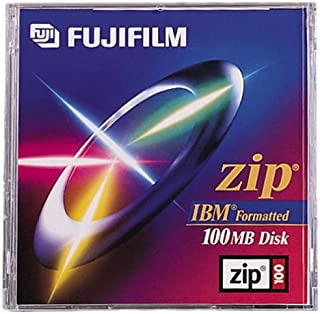 Fujifilm 100MB IBM Pre-Formatted Zip Disk (1-Pack) (Discontinued by Manufacturer)
