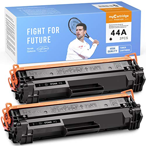 MyCartridge PHOEVER Tóner Negro Compatible para HP 44A CF244A para HP Laserjet Pro M15a M15w M16 M17a M17w MFP M28a MFP M28w MFP 29 MFP M30a MFP M30w Impresora (2 Negros)