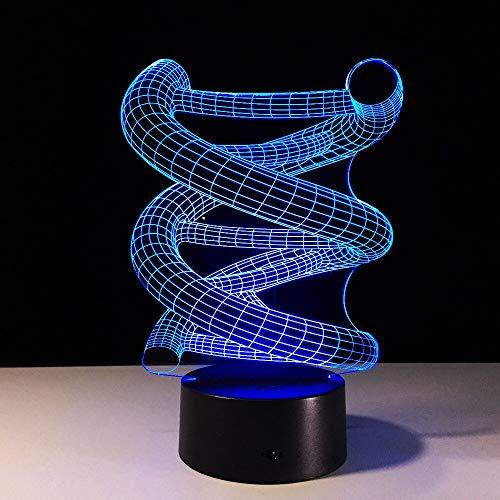 hqhqhq Geometric Acrylic Tischlampe 16 Farben Wechsel Schreibtischlampe 3D Lampe Neuheit Led Nachtlicht Millennium Falcon LED Licht Lampeara Kid Mit Fernbedienung -1314