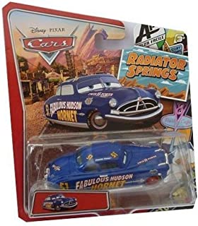 Disney/Pixar Cars, Radiator Springs Classic, Fabulous Hudson Hornet Exclusive Die-Cast Vehicle, 1:55 Scale