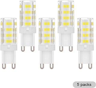 LAOYEBAOHE 4W G9 LED Bulb T4 G9 Halogen Replace, AC220V -240V Chandelier Lighting Non-dimmable/G9 Bi Pin Base /360 Degrees...
