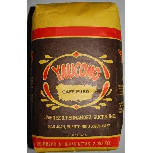 Cafe Yaucono Original Coffee Beans 5 Pounds