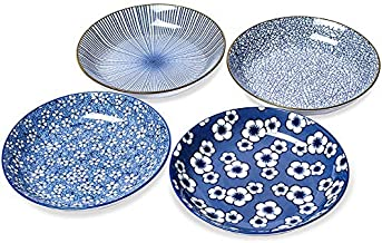 "Kylimate 8"" Shallow Bowls for Pasta, Salad, Cereal,Dessert, 700ML(24 Ounce), Ceramic Serving Dishes, Porcelain Dinnerware,..."