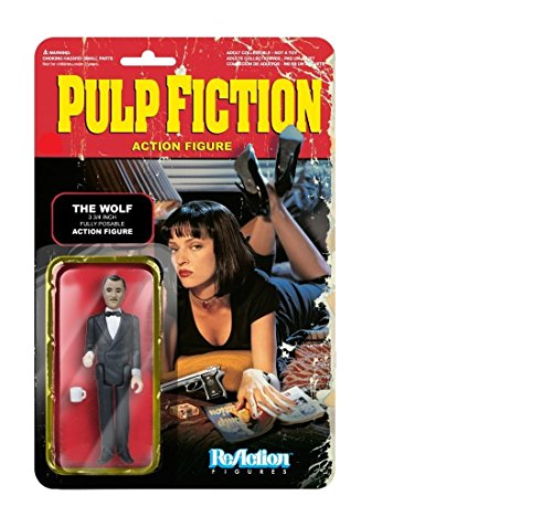 Funko 4153 ReAction Pulp Fiction ReAction 2 The Wolf Game 1