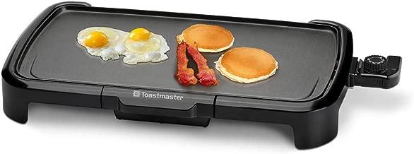 Toastmaster TM-203GR 10x20 Griddle, Black