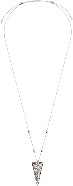 Swarovski® Crystal Infusion - Icy Moon Spike Pendant Necklace