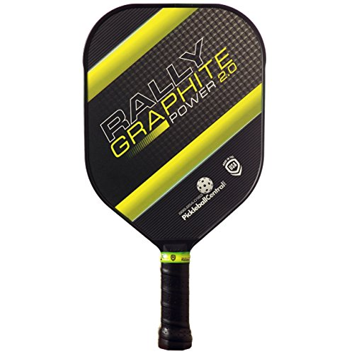 Pickleball Central - Rally Graphite Power 2.0 Paddle, Green