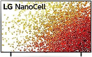 LG 65 Inch TV Real 4K NanoCell 90 Series Nano Color Nano Black a7 Gen4 AI Processor Cinema Screen - 65NANO90VPA (2021 Model)