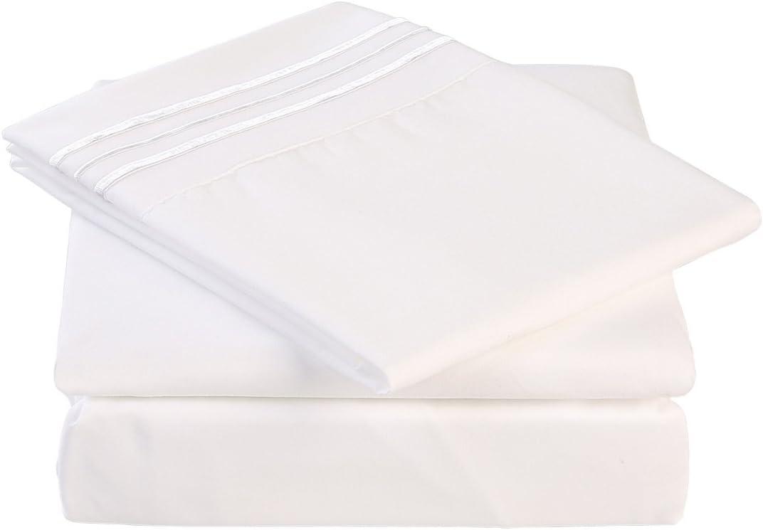 Eskimo Bed Sheets Set- Brushed Pocket Fitte Microfiber Ranking TOP16 supreme with Deep