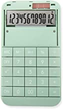$25 » 12-Digit Display Big Screen Big Button Solar Dual Power Supply Calculator Student Office,Automatic Shut-Down