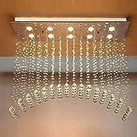 PXY アーチ型雨滴ダイニングルーム照明L100 X W30 Cm