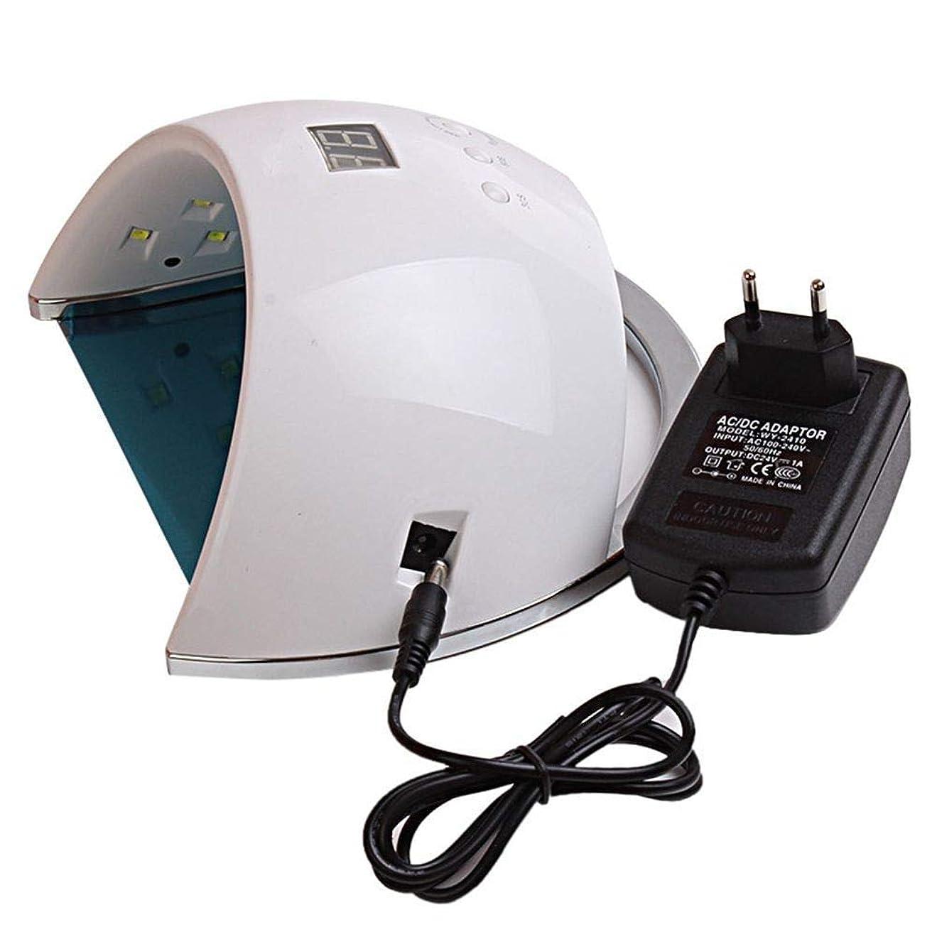 上向き本会議潮ネイルドライヤーランプ用ネイル48W SUN6 UV LEDランプポータブル高品質ネイルドラムセンサーとLCD硬化UVネイルジェルネイルツールufランプ、画像としての色