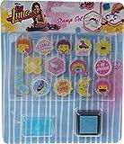 Disney Soy Luna Luna-Sello Transparente, Multicolor (Canenco B.V SL17268)