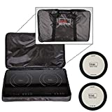 True Induction Portable Double Burner Induction Cooktop w/FREE CARRYING BAG AND MATS