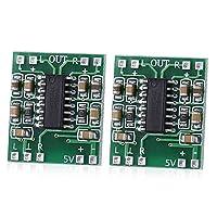 AiHua Huang 2PCS PAM8403スーパーミニデジタルアンプボード2.5 5VのUSB 2 * 3W D級のデジタルアンプ基板に効率的