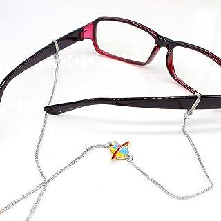 Catene per occhiali da vista da donna accessori per occhiali con ciondolo a forma di foglia supporto per occhiali oro Oro Yienate Bohemia