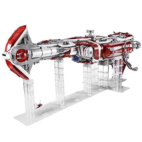 KEAYO Modelo de destructor de estrellas Mould King 21002, 8338 piezas, gran República de ataque UCS Destroyer MOC, bloques de sujeción, compatible con la destructor de estrellas Lego