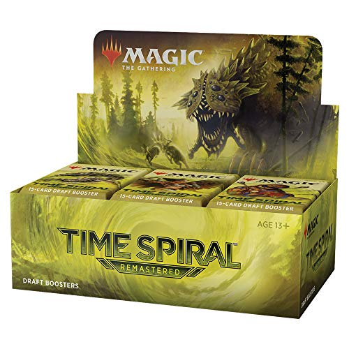 Magic: The Gathering Time Spiral Remastered Draft Booster Box | 36 Packs (540 Magic Cards)