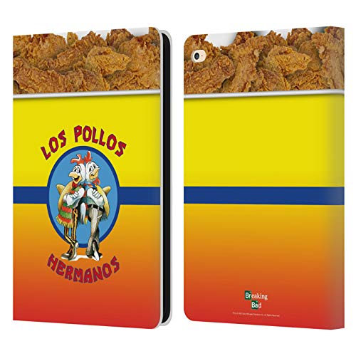 Official Breaking Bad Los Pollos Bucket Of Chicken Iconic Leather Book Wallet Case Cover Compatible For Apple iPad Air 2 (2014)