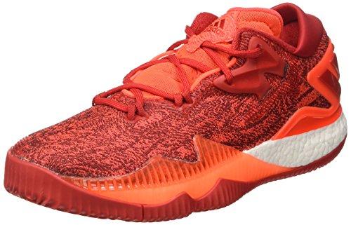 adidas adidas Herren Crazylight Boost Lo Basketballschuhe, Multicolore (Solred/Scarle/Ftwwht), 41 1/3 EU